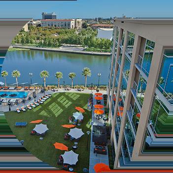 University Waterfront Hotel Stockton Ca